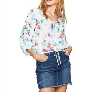Jack Gisele Printed Top